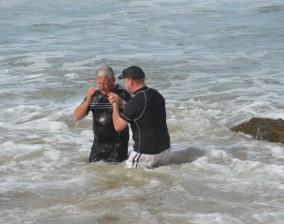 Baptisms at Vic Bay